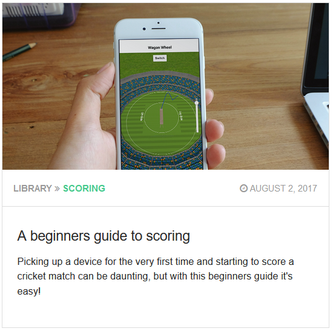 cricHQ's guide to scoring