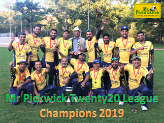 Mr Pickwick Twenty20 League Champions 2019