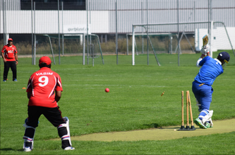 Bowled, Aargau take a ZCCC wicket