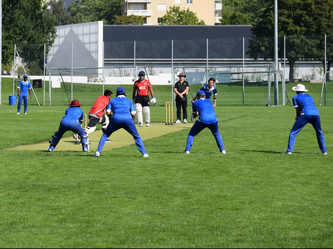 ZCCC pressurising the Aargau batters