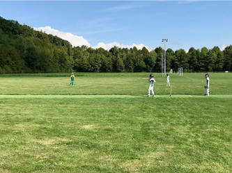The pitch at En Marche for the U11 Leman Cup 2017