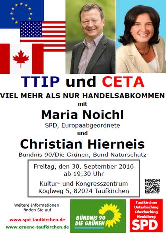 Plakat: SPD-Taufkirchen