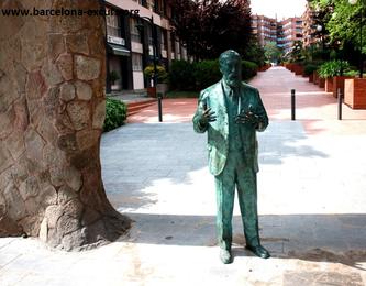 Уличная скульптура Барселоны. Посвящение Антонио Гауди