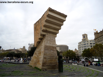 Уличная скульптура Барселоны. Франсеску Масиа