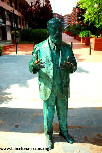 Уличное искусство Барселоны. Посвящение Антонио Гауди