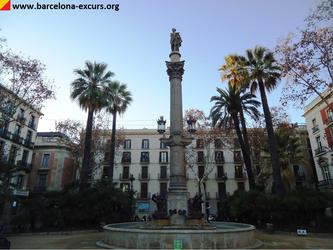 Уличная скульптура Барселоны. Посвящение Гальсерану Маркету