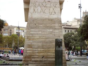 Уличная искусство Барселоны. Посвящение Франсеску Масиа