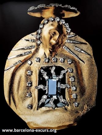 Ювелирные изделия Сальвадора Дали. Аквамариновая мадонна