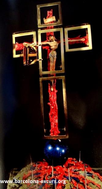 Ювелирные изделия Сальвадора Дали. Крест ангела
