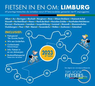 Tips voor Fietsers - Fietsen in en om Limburg 2019 - Download de gratis fietsgids