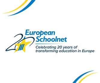 Jubiläumslogo des European Schoolnet