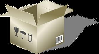 Offene Box