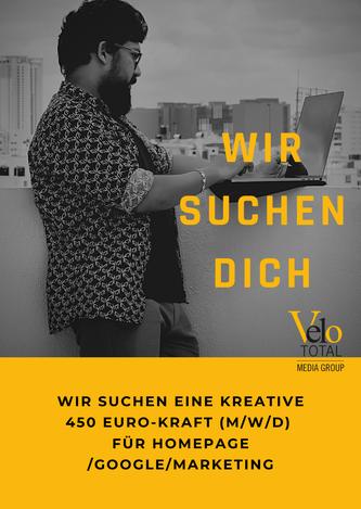 Stellenangebot VeloTOTAL GmbH