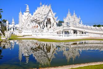 Weißer Tempel von Wat Rong Khun © Manus Chairojsumphun auf Pixabay
