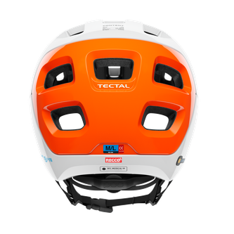 POC Tectal Race SPIN NFC MTB-Helm - von hinten