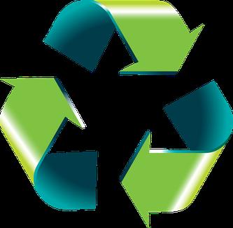 Recyclingbaustoffe können im Straßenbau wiederverwertet werden (Symbolbild; Foto: pixabay.com / stux)