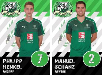 Philipp Henkel und Manuel Schanz