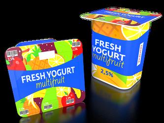 Joghurt Becher süß