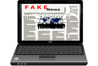 Laptop Fake News