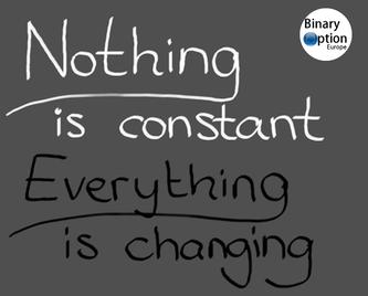nulla è costante tutto cambia trading