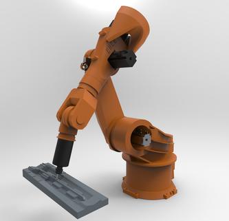 Étude de mouvement, simulation des programmes robot hdpr
