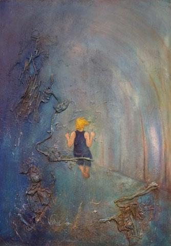 BDL 1814 Öl auf Leinwand 100 x 70 cm