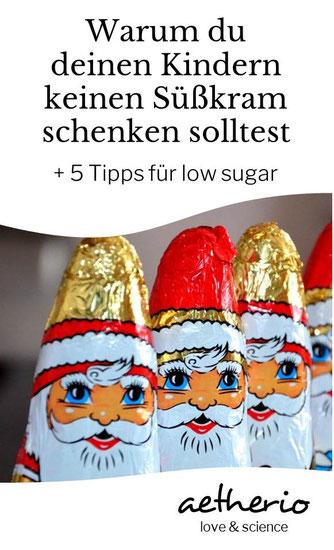 warum du deinen kindern keine süßigkeiten schenken solltest - zucker ist keine liebe - aetherio.de/journal