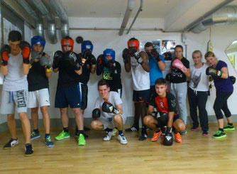 Light-Contact Boxing und Olymp.Boxen Sept. 2015 @ M's-Gym Bern Ittigen