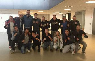 Marco Spath und Bernhard Pulfer, Wettkampftrainer-Ausbildung AIBA OPEN BOXING (AOB) Amateurboxen, Magglingen Oktober 2016