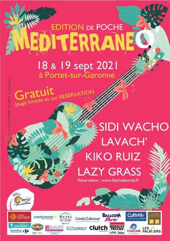 Le food truck sera présent au festival MéditerraneO à Portet sur Garonne