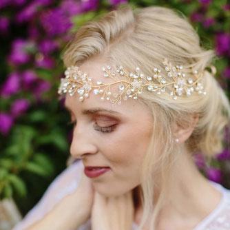 Haarband Golden Mary