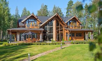maison bois 440 m²