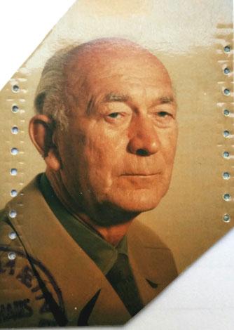 Passfoto des Vaters