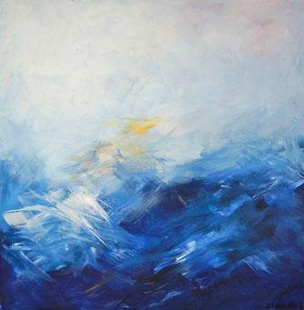 Blue Sea | Acryl / 60 x 60 c,m