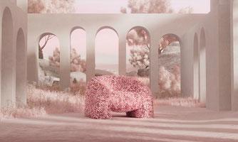 hortensia fauteuil moooi eclat reims