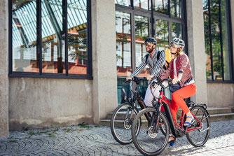 Hercules e-Bikes und Pedelecs in der e-motion e-Bike Welt in St. Wendel