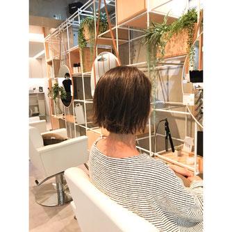 横浜 元町 石川町 美容室 ヘアサロン 美容師 美容院 ショート ボブ ミディアム ハイライト マスクに似合うヘアスタイル バレイヤージュ