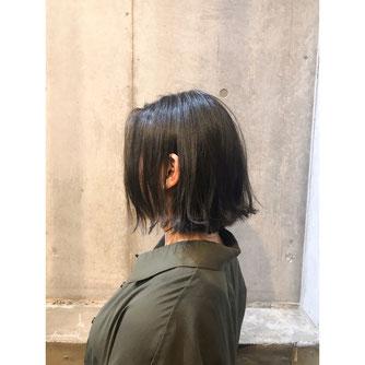 横浜 石川町 美容室 Grantus 切りっぱなしボブ ミディアム エフラージュカット