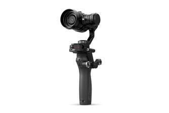 DJI Osmo Pro es un estabilizador de mano para profesionales del video, incluye cámara X5 o X5R con lente intercambiable, portabilidad, estabilidad y alta calidad de imagen en una mano