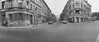 Hans Martin Sewcz - Tucholskystraße, Ecke Auguststraße Mai 1979