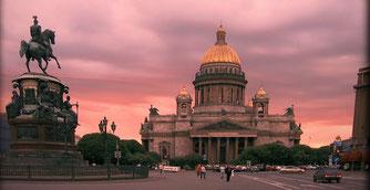 Piazza Sant'Isacco - San Pietroburgo