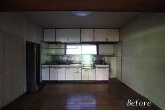 壁付キッチン(工事前)