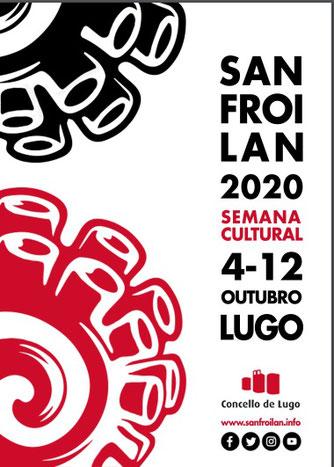 Fiestas de San Froilán 2015 en Lugo Cartel y Programa