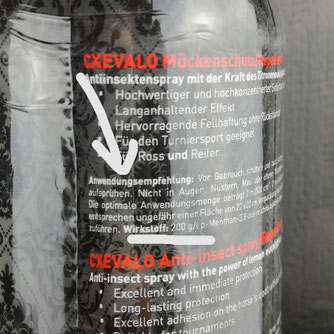 Mückenschutz Flasche