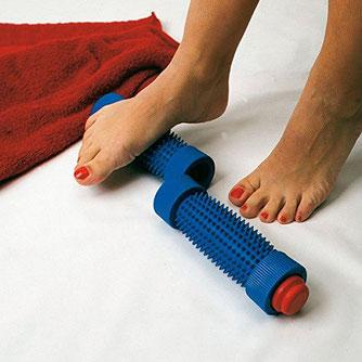 Fußrolle bei juckenden Füßen