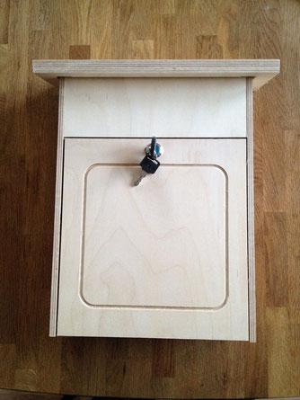 Holzbriefkasten Multiplex