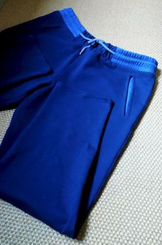 Dark blue sweatpants for my husband © Griselka 2020