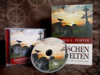 Soundtrack CD Roman Buch Zwischen den Welten Nicolae Saga Aurelia L. Porter Maximilian J. Zemke