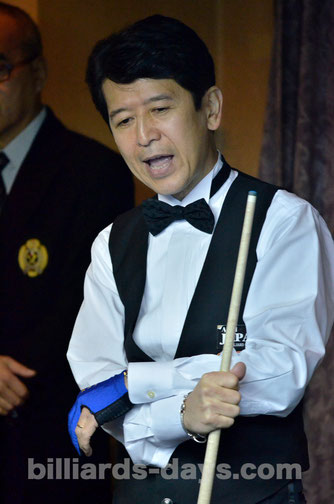 9th : Tatsuo Arai 暫定9位:新井達雄