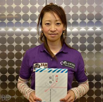 女子級優勝・佐原弘子(Hiroko Sahara)